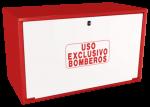 Cofre de superficie IPF-39 rojo / Puerta ciega blanca