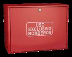 Cofre de superficie  IPF-41 rojo / Puerta ciega roja